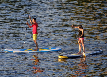 Paddle-kayak-canoe - Meilleur paddle Stand Up gonflable